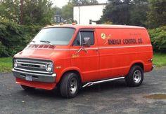 70's custom Dodge van