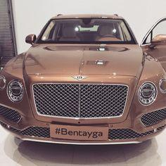 B O S S A — BRONZE  #bentayga  #bentley