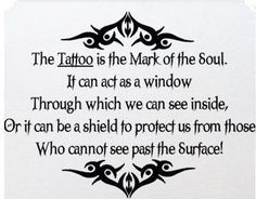 Make your tattoos have a special meaning to you, don't just pick some flash of the wall!