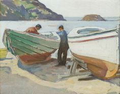 EDWARD HOPPER Tredwell's Folly, Monhegan Oil on board, 8×10 in.  Private Collection