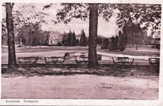 Het Volkspark met Villa.