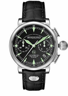 Riedenschild Uhren Genero 2 Chrono RS1162-01: Amazon.de: Uhren