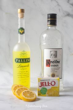 This lemon drop jello shots recipe made from vodka, Limoncello and real lemon juice is awesome! It tastes just like a lemon drop martini and is a great addition to your party cocktail list. Lemon Drop Jello Shots Recipe, Lemon Drop Shots, Best Jello Shots, Lemon Drop Martini, Jello Shot Recipes, Alcohol Drink Recipes, Salad Recipes, Champagne Jello Shots, Alcohol