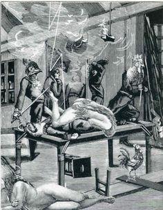 Collage image from Max Ernst's Une Semain De Bonté   A Week Of Kindness davidcharlesfoxexpressionism.com #unesemainedebonté #aweekofkindness #collage #artistsbook #maxernst #masterpiece #illustration #cutout #weird