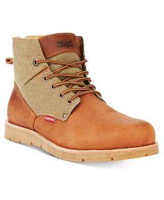 ddcdc86462115f Levi's Men's Jax Hemp Boots Chanvre, Bottes De Randonnée, Levis, Chaussures  Hommes,