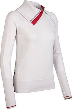 WIN IT!!! Coronet Long Sleeve Half Zip for women and the Escape Long Sleeve Crewe Stripe for men.