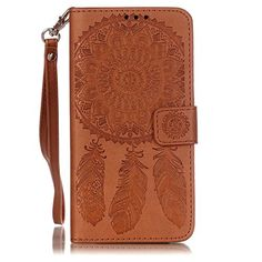 Buy Galaxy G530 Case, Firefish Flip Cover PU Leather & Bumper TPU with Stand + Lanyard Case Delicate Style Protective Cover for Galaxy Grand Prime G530-Brown NEW for 2.49 USD | Reusell