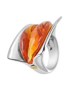 Murano glass cocktail ring