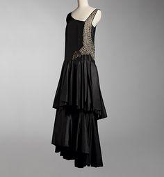Jeanne Lanvin 1928 Evening dress (Beautiful Bird) 展覧会の見どころ|PARIS オートクチュール 世界に一つだけの服 |三菱一号館美術館(東京・丸の内)