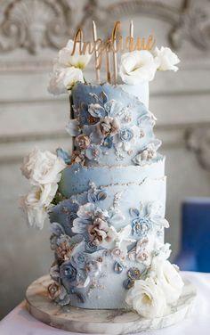 Beautiful Wedding Cakes, Gorgeous Cakes, Pretty Cakes, Amazing Cakes, Cloud Cake, Fantasy Cake, Unique Cakes, Cake Decorating Techniques, Occasion Cakes
