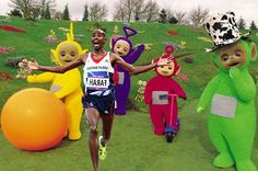 Eh oh, Mo! Teletubbies are on the rampage