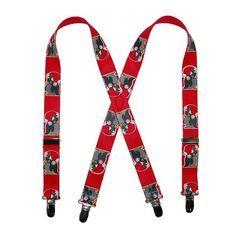 BeltOutlet.com - CTM Kids Christmas Penguin Print Holiday Suspenders