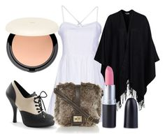 """Untitled #1257"" by nadeigelapointe ❤ liked on Polyvore featuring Angel Eye, Glamorous and H&M"