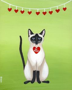 Image result for cute cats art paintings series