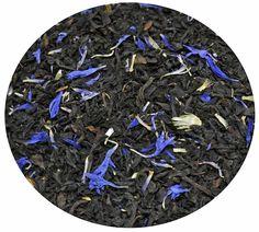 """""""Té Negro Earl Grey Azul"""" Té Negro con bergamota y flores azules. 6€ / 100 gr."""