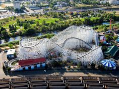 Denver is the only U.S. city with an amusement park in its downtown area, Elitch Gardens.