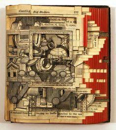 brian dettmer - incredible book art