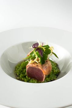 Thunfisch & Kräuterrisotto