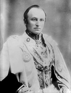 George Curzon, 1st Marquess Curzon of Kedleston | In 1903, Lord Curzon, then Viceroy of India hosted the Duke & Duchess of Marlborough (Consuelo Vanderbilt) at the Delhi Durbar.