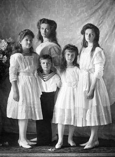Tsar Nicholas II's five children
