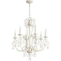 You'll love the Cintron 6-Light Candle-Style Chandelier at Birch Lane - With Great Deals on all products and Free Shipping on most stuff, even the big stuff.