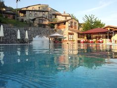 AD Borgo Giusto, Borgo a Mozzano (LU)  The pool was big enough for the kids!