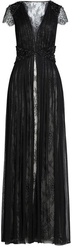 Catherine Deane Floor-Length Lace Gown jαɢlαdy