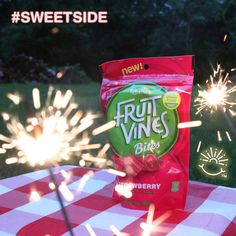 Fruit Vines!!! I received this delicious treat for testing purposes from Influenster.