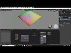 A quick tutorial on how to setup a gradient on any given axis (XYZ) using the texture coordinate node ,mapping , ramp and separate nodes. Steven Scott, Blender Tutorial, Blender 3d, 3d Artist, Make It Yourself, Tutorials, Youtube, Teaching