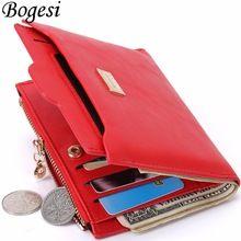 with Coin Bag zipper new 2016 women wallets brand purses female  thin wallet passport holder ID Card Case