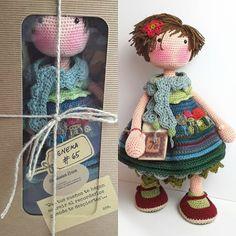 Yarn Dolls, Crochet Dolls, Hand Crochet, Crochet Baby, Amigurumi Doll, Amigurumi Patterns, Crochet Patterns, Little Girl Gifts, Baby Unicorn