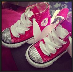 3fde1102b4f6 113 Best Bedazzled Converse images