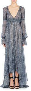 Philosophy di Lorenzo Serafini Floral Button-Front Gown-Multi