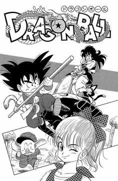 Goku, Bulma, Oolong, Puar, and Yamcha Akira, Dragon Ball Z, Poster Anime, Manga Dragon, Fan Art, Manga Pages, Cartoon Tv, Marvel Characters, Son Goku
