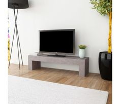 cb6d0adc772 vidaXL Tv-meubel betonlook 120x30x30 cm online kopen bij vidaXL.nl ▻ Gratis  verzending
