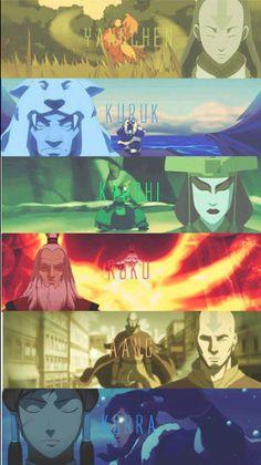The Legend of Korra: Avatars. I wanna see more Yangchen and Kuruk