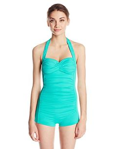 a48374392a Seafolly Women s Goddess Boyleg Maillot One Piece at Amazon Women s  Clothing store  Fashion One Piece Swimsuits. Swimwear Cover UpsSwimsuit ...