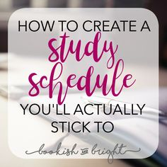Creating a study schedule is hard. Creating a study schedule you& stick to, is near impossible. I share my tips on how to create one you& stick to! College Schedule, Study Schedule, School Schedule, Student Studying, Student Life, College Students, School Study Tips, School Tips, Law School