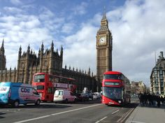 Londres, Big-Ben, bus rouge