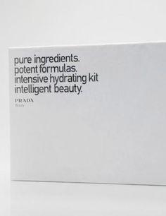 prada cosmetic packaging
