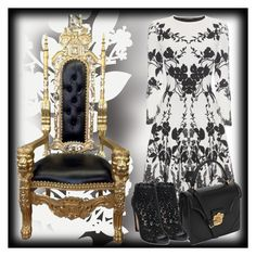 """""""Queen of Everything"""" by lorilee3131 ❤ liked on Polyvore featuring Élitis, Alexander McQueen and AlexanderMcQueen"""