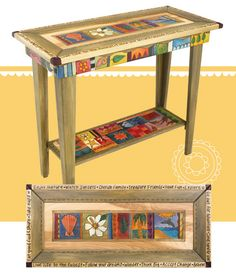2013 Catalog Collection Page 7 - Sofa Table with Shelf