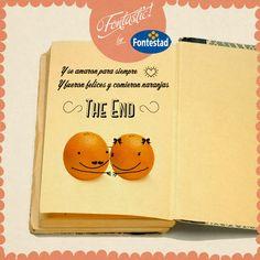#DíadelLibro Así de fontastics debería ser todos los finales, hasta los de los libros.