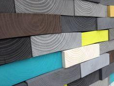 Modern Wood Sculpture Wall Art Wood Wall Art by WallWooden