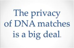 Everything we learned in Kindergarten does not apply to DNA testing.