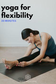 Prenatal Yoga, Restorative Yoga, 30 Minute Yoga, Hip Opening Yoga, Yoga Flow Sequence, Free Yoga Videos, Stretch Routine, Deep Breathing Exercises, Bedtime Yoga