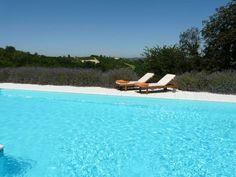 Swimming pool, La Villa hotel, Mombaruzzo