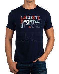 Camisetas Lacoste ® Azul Marino | ENVIO GRATIS