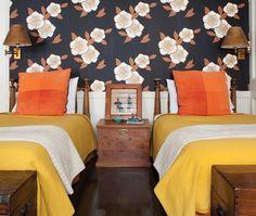 Une chambre au style néo-rustique