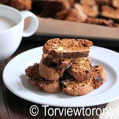 Torviewtoronto: Oatmeal biscotti baked in TFX baking sheet